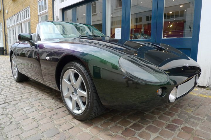 2002 tvr griffith