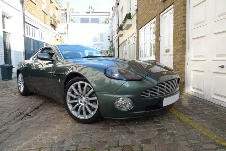 2003 aston martin quish