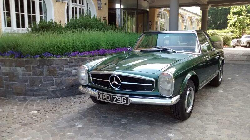 1968 mercedes benz 280sl pagoda