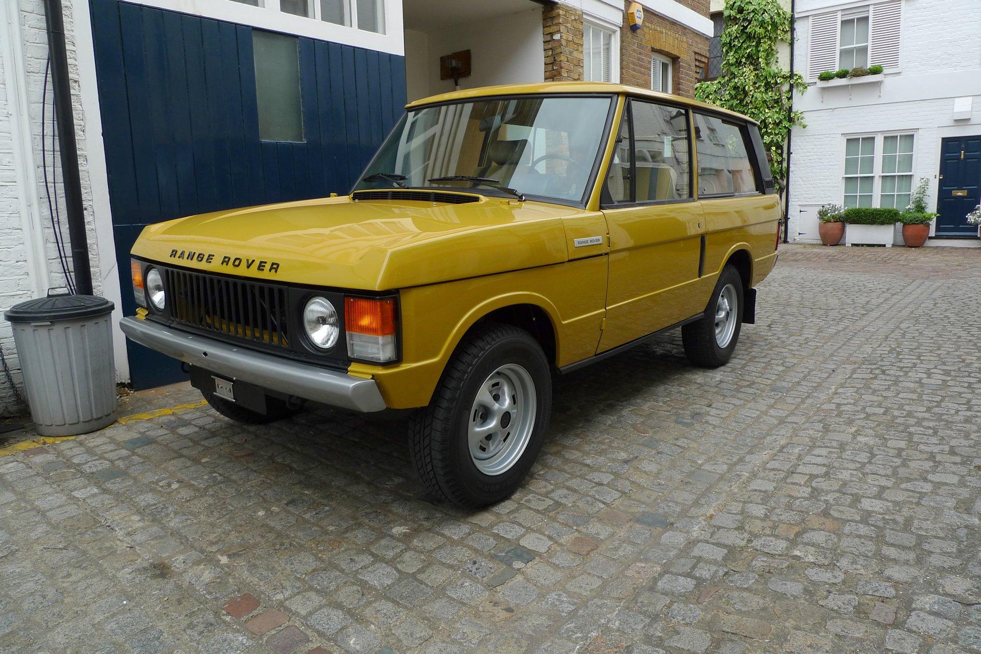 1979 range rover classic 3 door