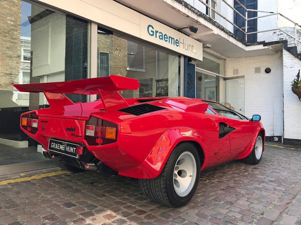 1987 Lamborghini Countach 5000qv For Sale 163427 Motorious