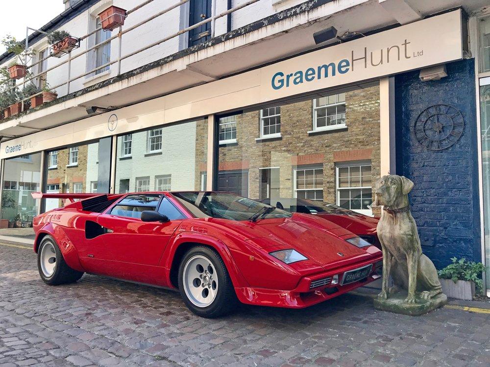 1987 Lamborghini Countach 5000qv Graeme Hunt Ltd
