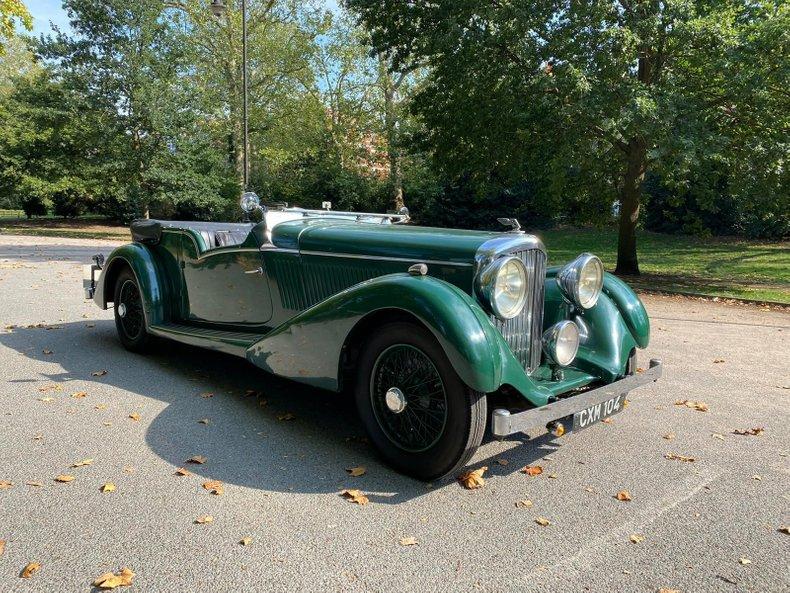 1936 Bentley  Derby 4.25 litre Tourer by Vanden Plas