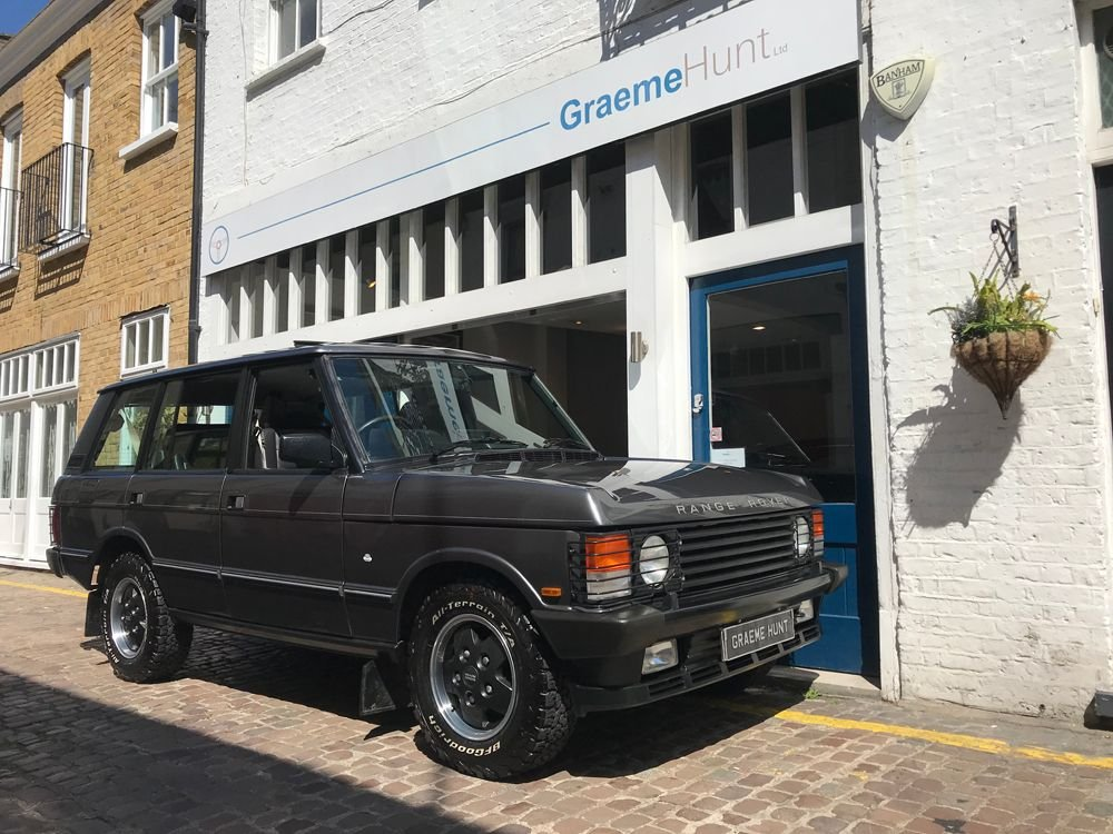 1993 land rover range rover classic lse