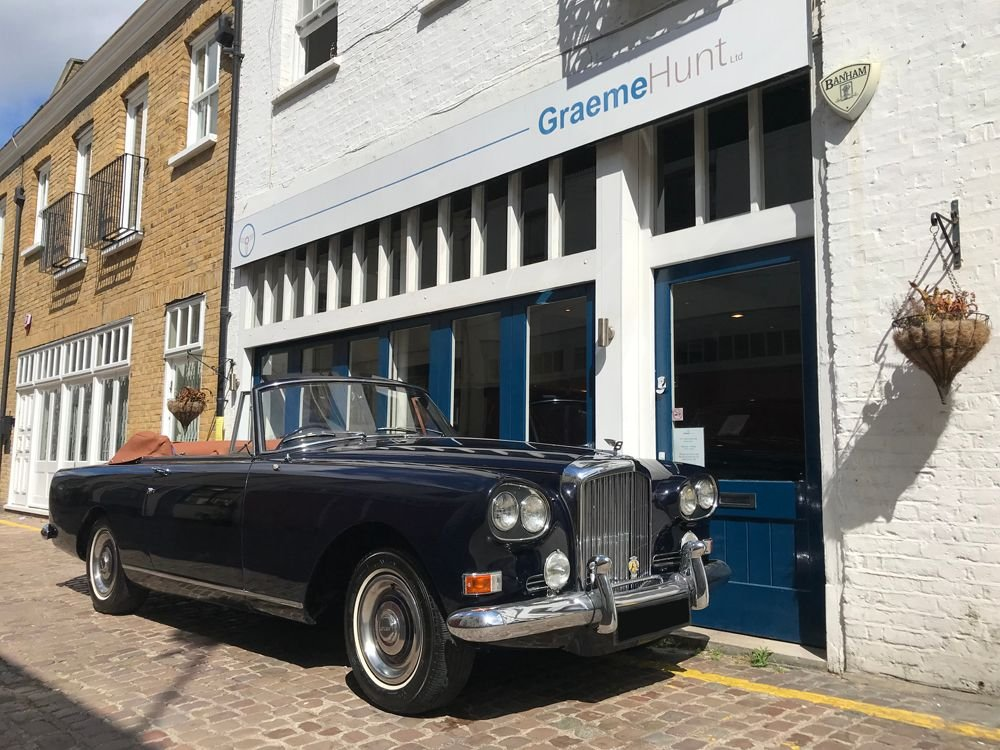 1963 bentley s3 continental drop head coupe