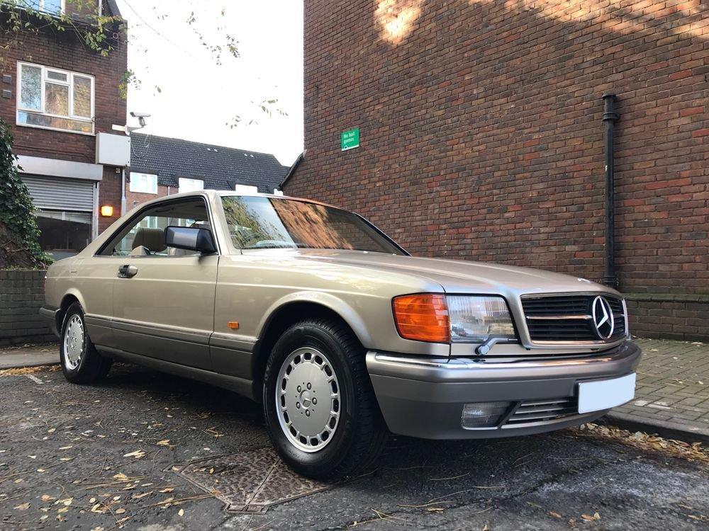 1988 mercedes benz 560 sec