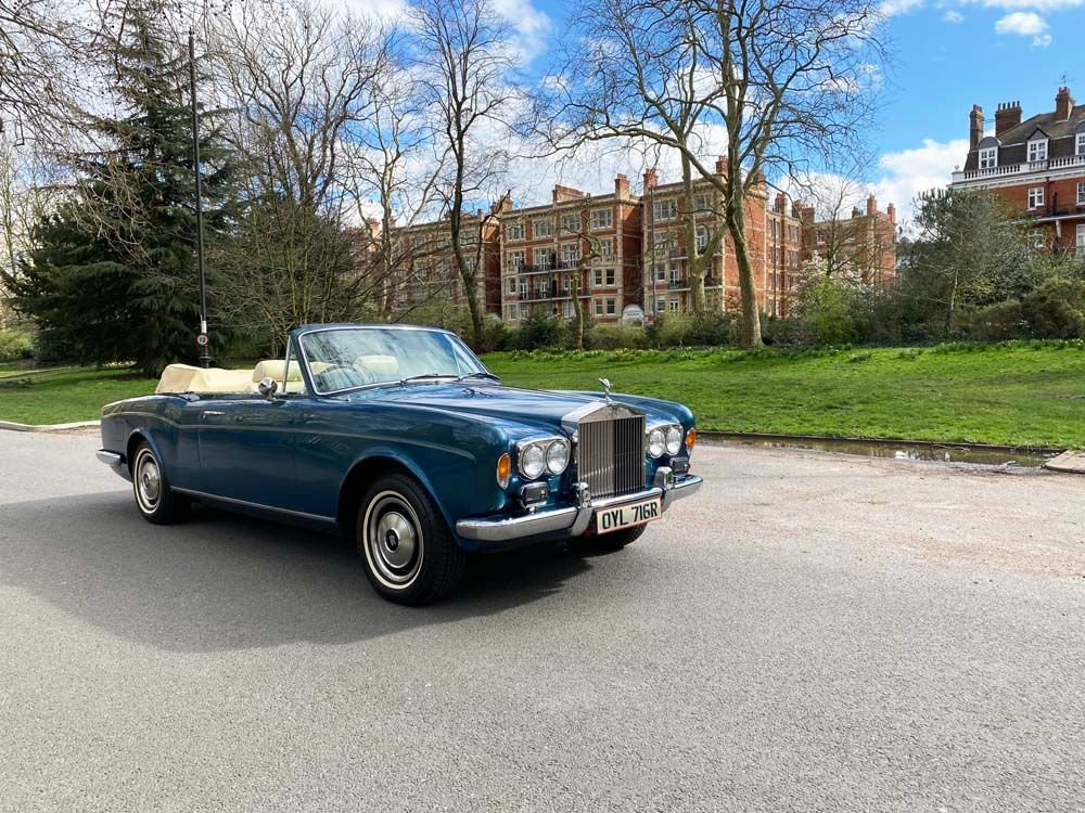 1976 rolls royce corniche drop head coupe