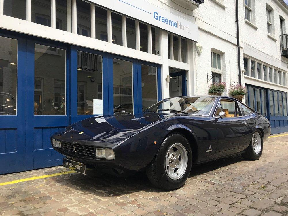 1972 ferrari 365gtc 4 full classiche certification