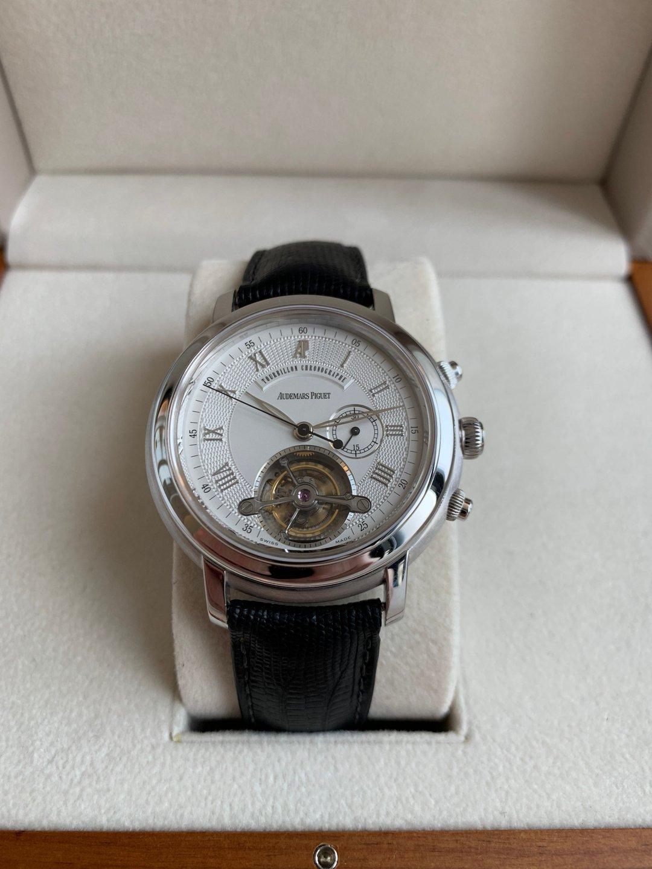 2002 audemars piguet jules audemars tourbillon chronograph