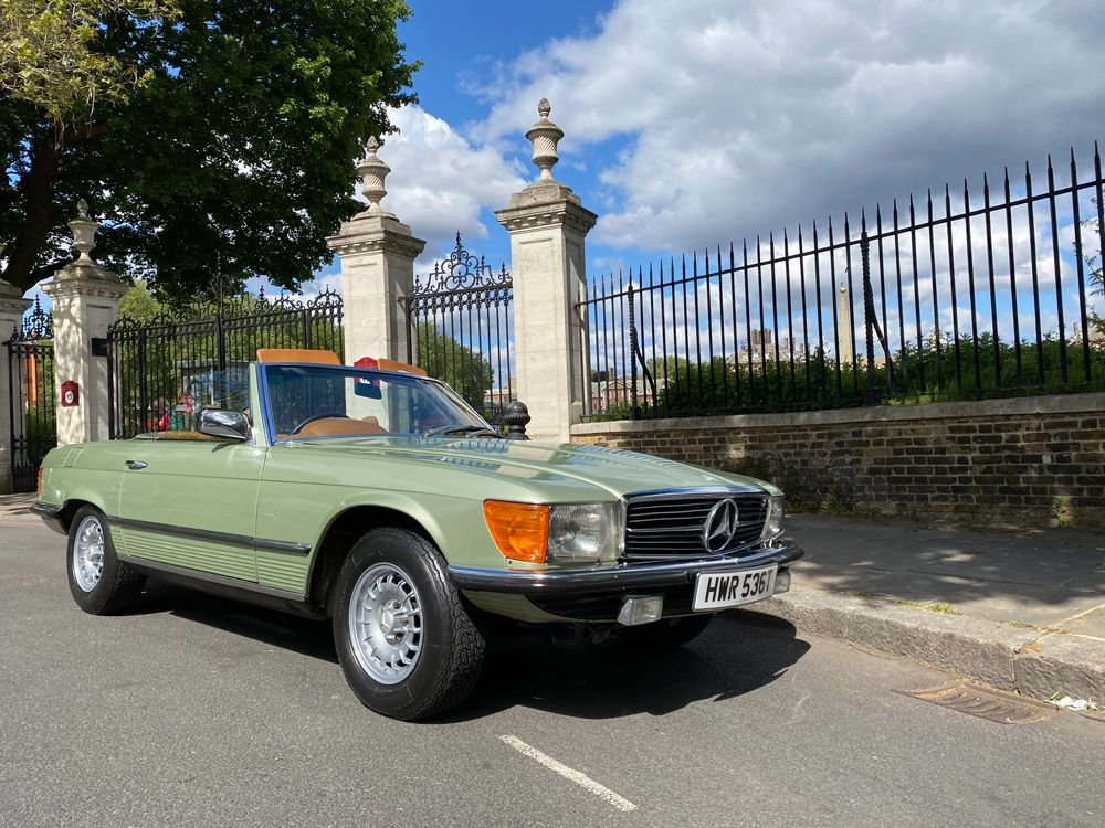 1979 mercedes benz 350sl
