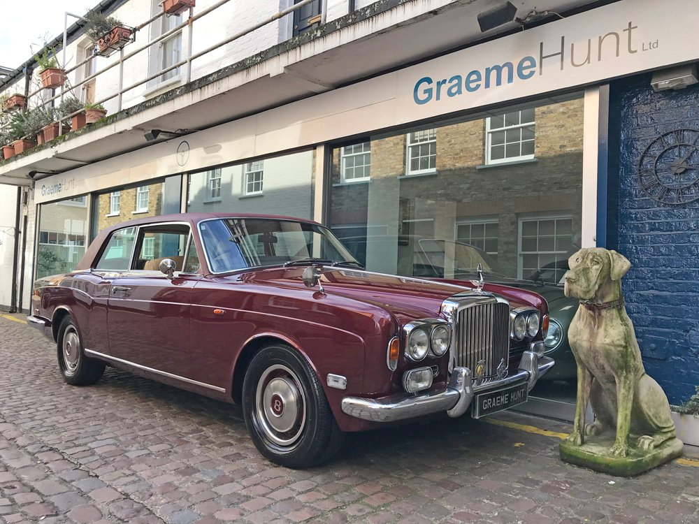 1974 bentley corniche 2 door saloon