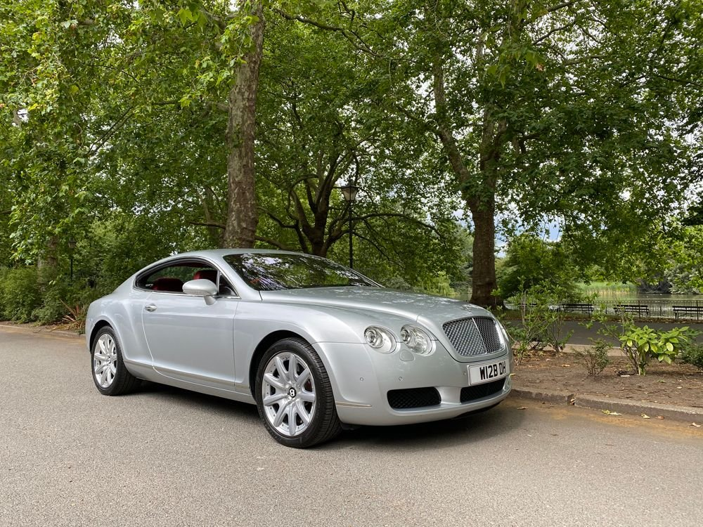 2004 bentley continental gt 17 000 miles only