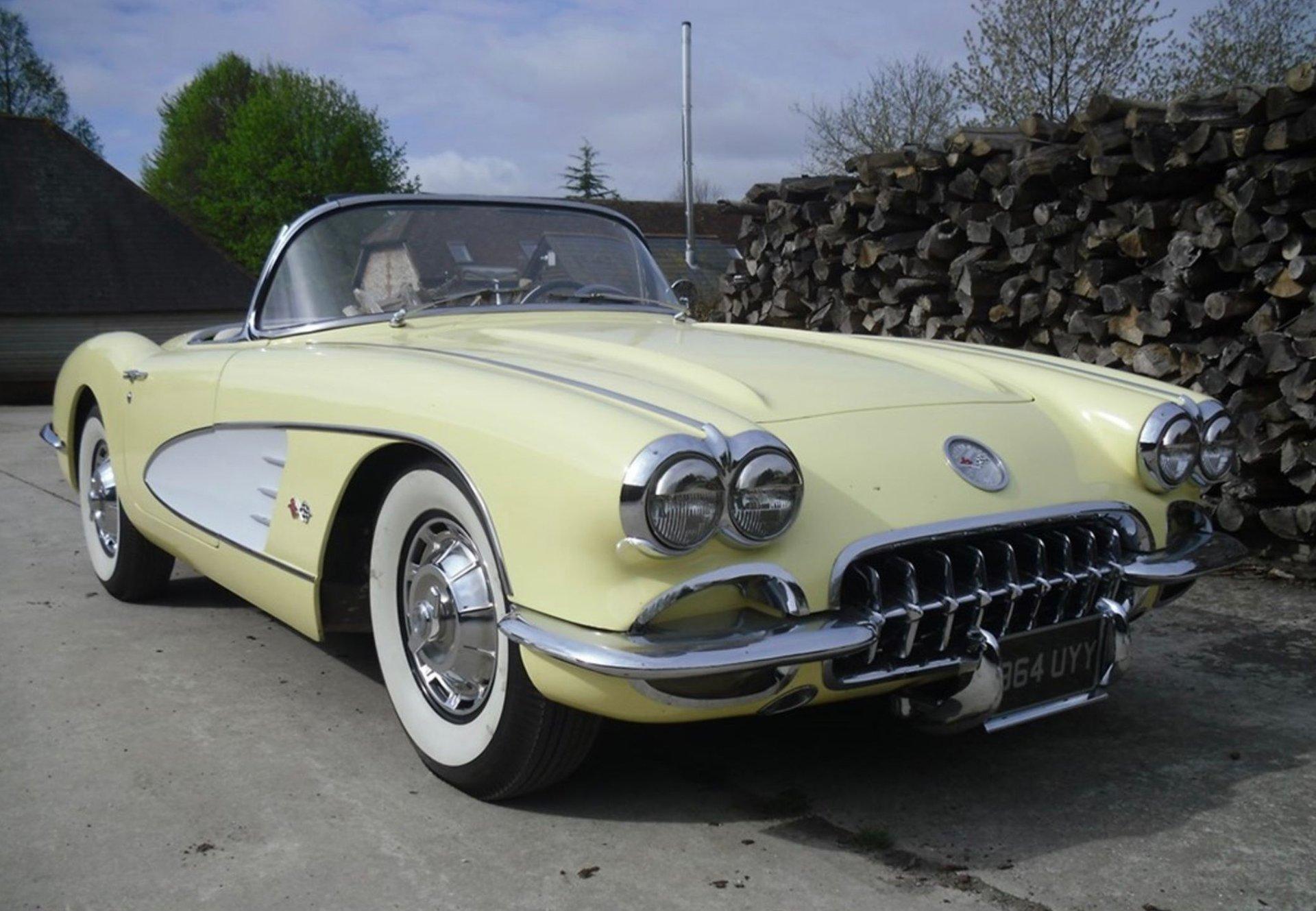 1959 chevrolet chevrolet corvette c1 283 cu in v8