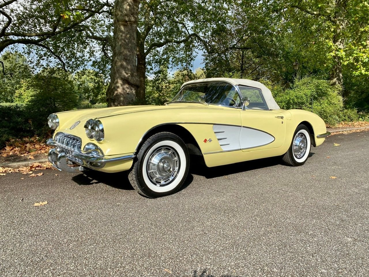 1959 chevrolet corvette c1 283 cu in v8