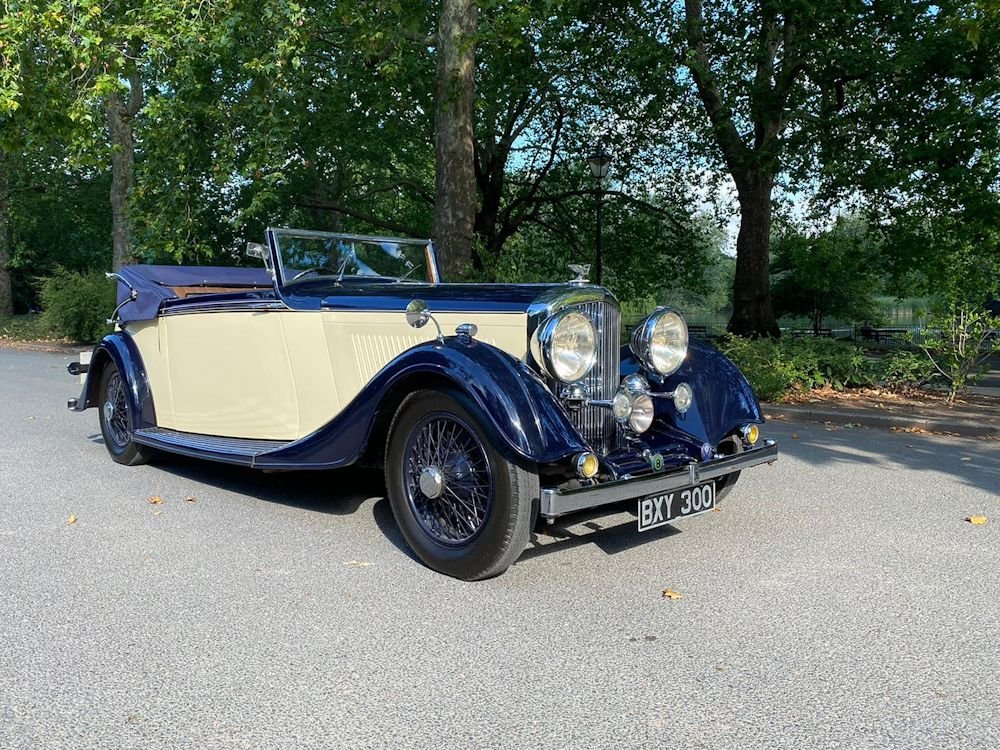 1935 bentley 3 1 2 litre drophead coupe thrupp maberly