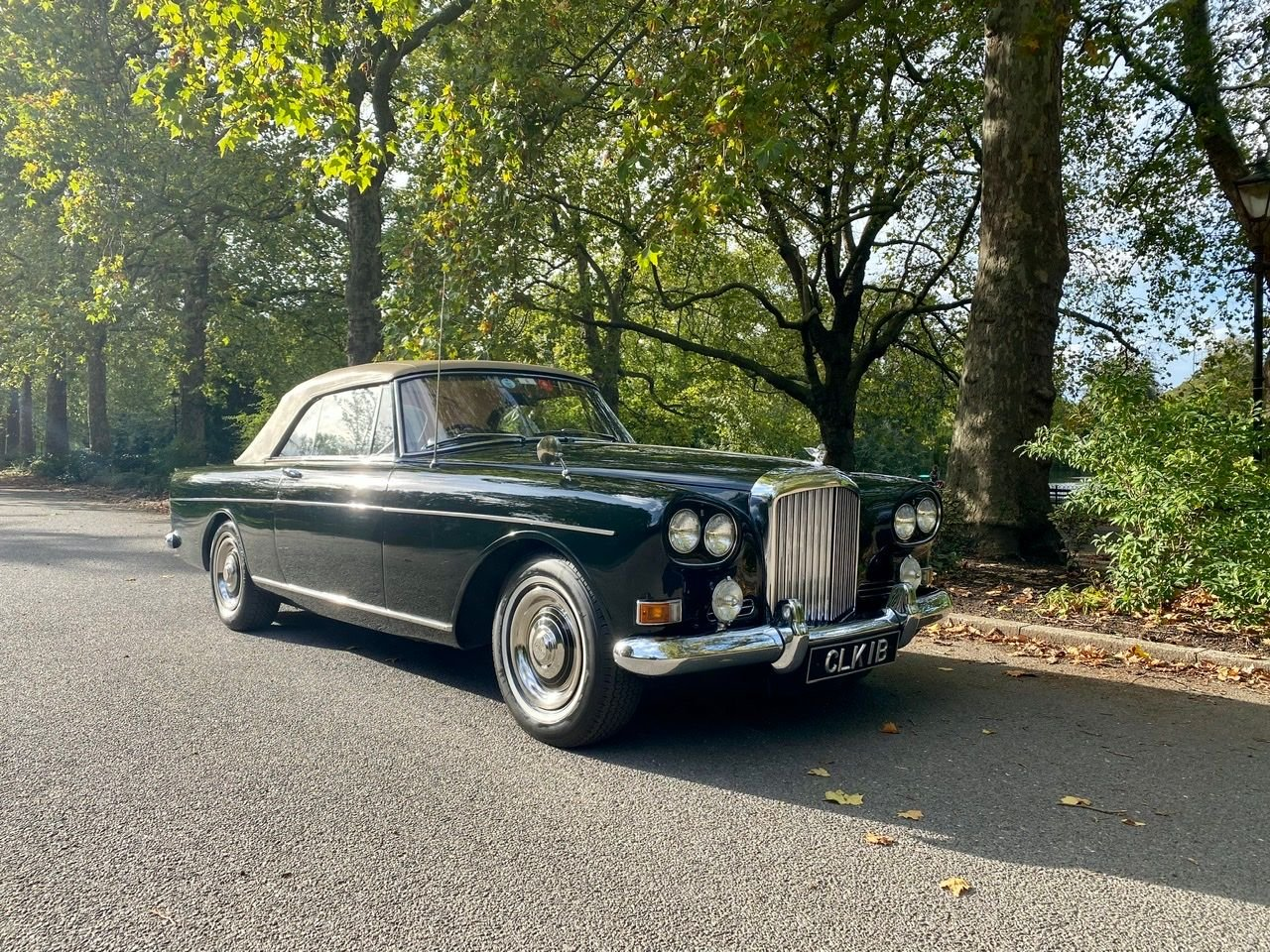 1964 bentley s3 continental drop head coupe