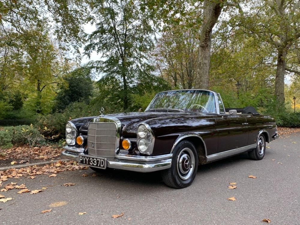 1966 mercedes benz 250 se convertible