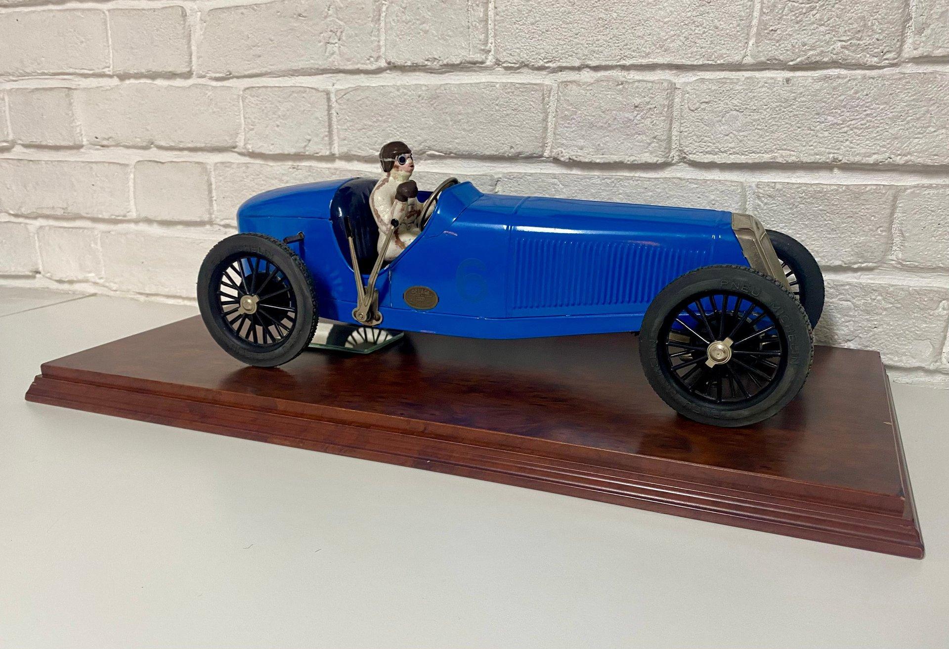 1927 delage 15 s8 model car