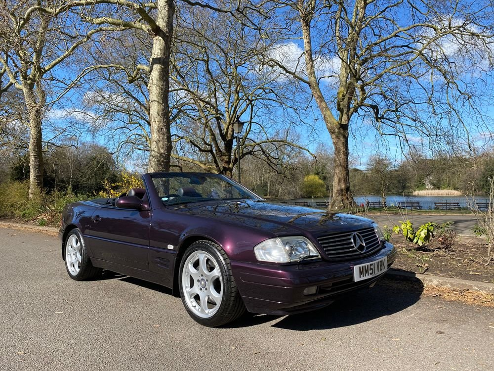 2001 mercedes benz 320sl designo edition