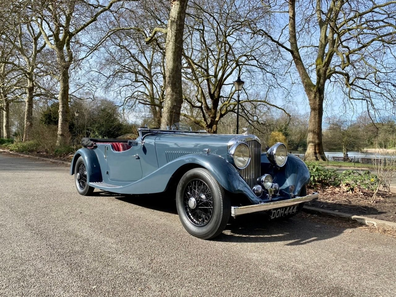 1935 bentley 3 1 2 vanden plas
