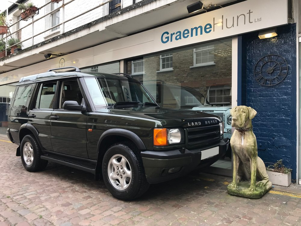 1998 land rover discovery ii es v8