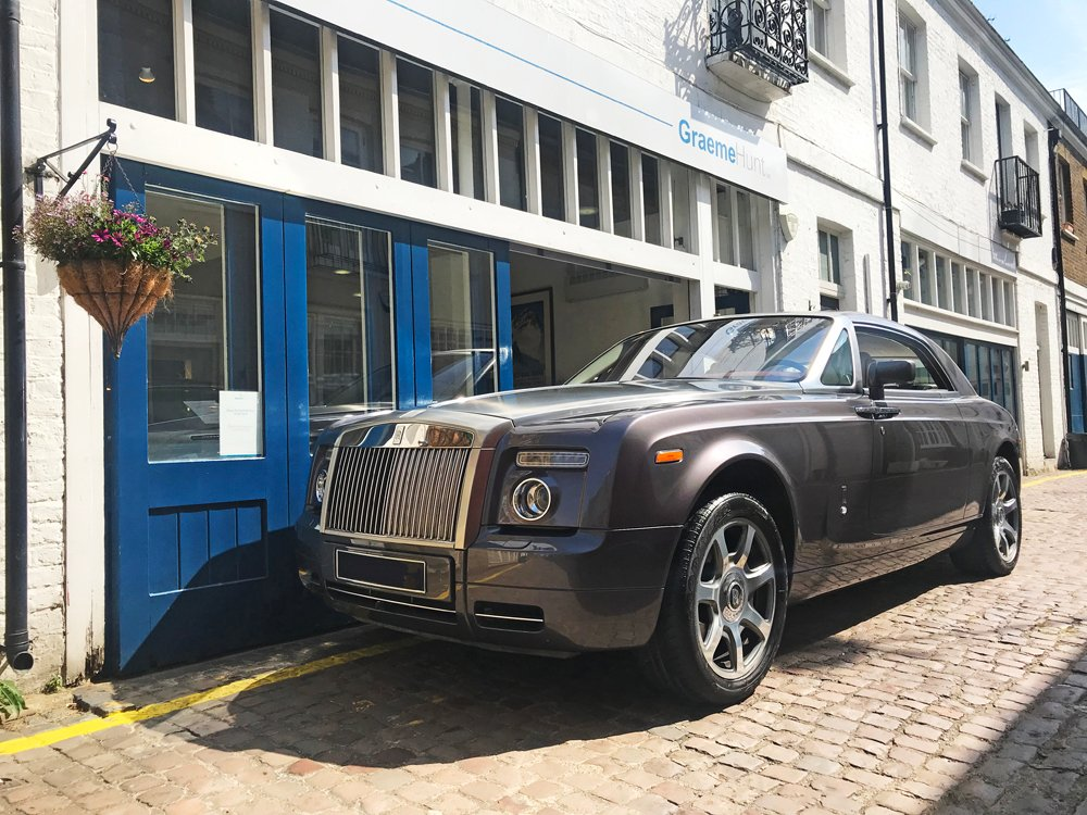 2010 rolls royce phantom coupe
