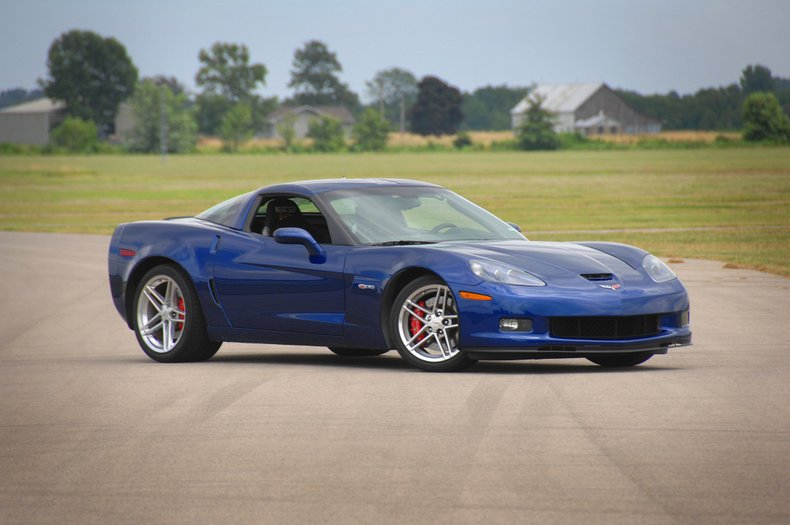 "2005 Chevrolet Corvette Z06 ""Blue Devil"""