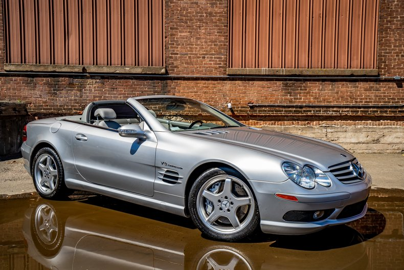 2003 Mercedes-Benz SL55