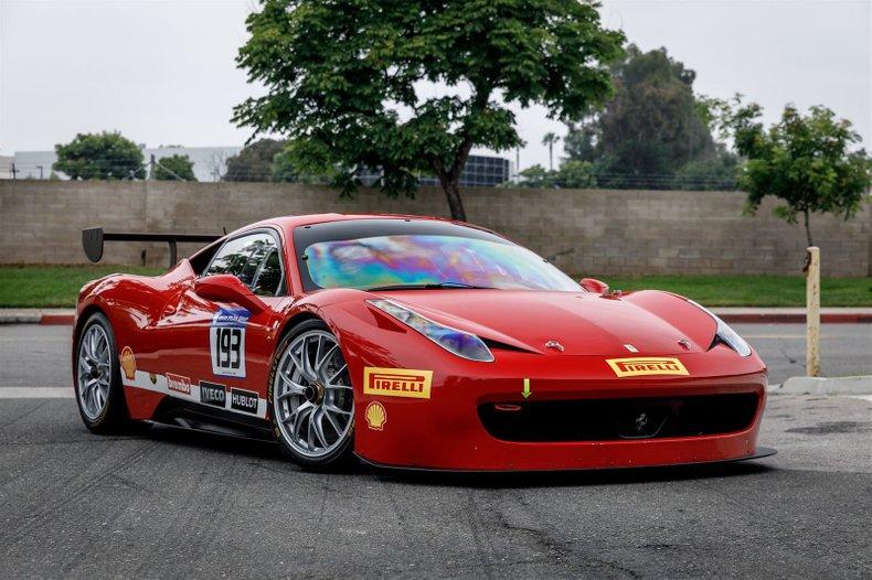 2012 Ferrari 458 Challenge For Sale