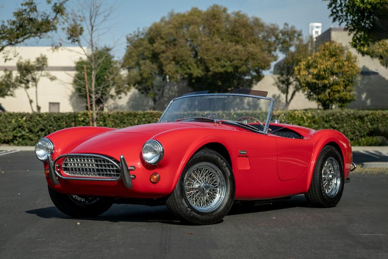 1962 Cobra 289 Slab Side Superformance MKII