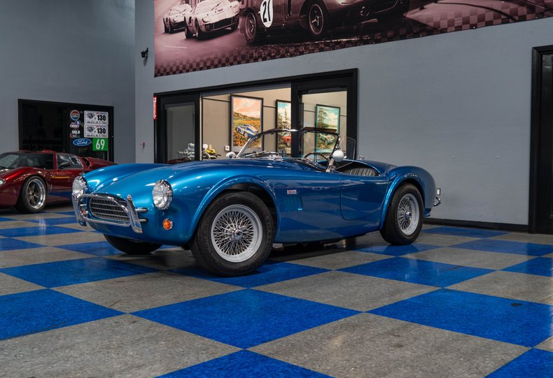 1962 Cobra Superformance MKII 289 Slab Side