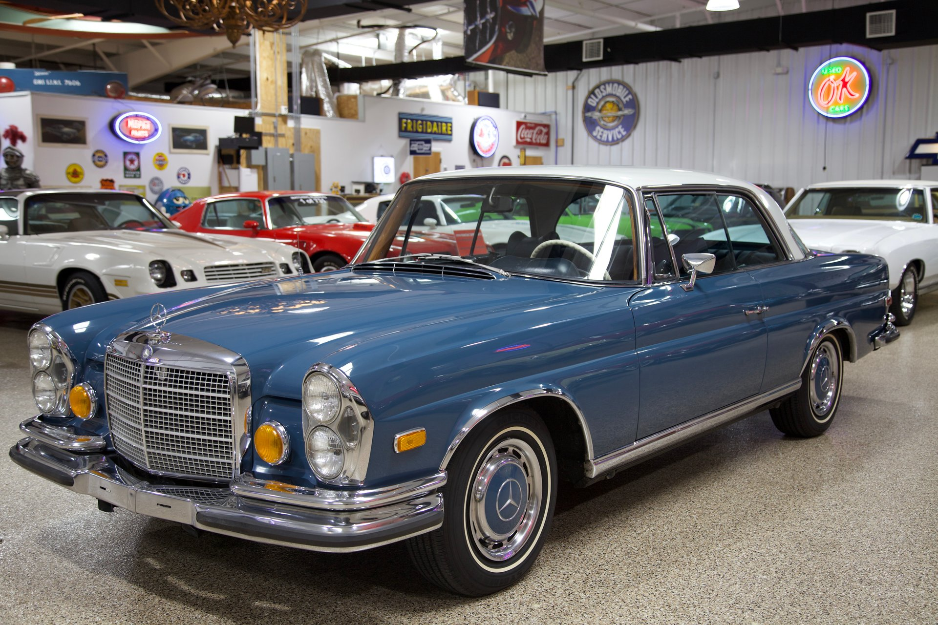 1971 mercedes benz 280se 3 5 coupe