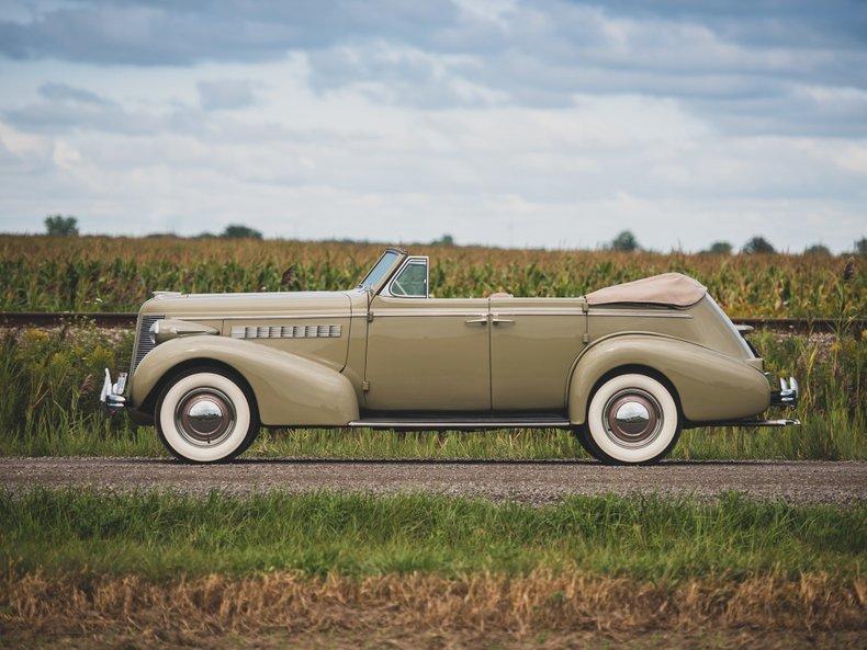 1937 Buick Phaeton Convertible