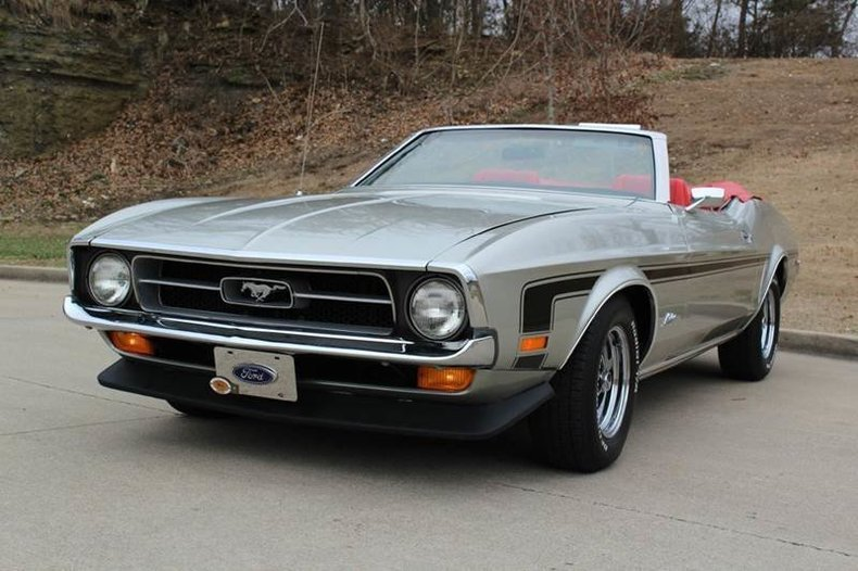1971 Ford Mustang Convertible For Sale  82612