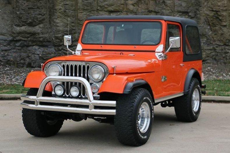 1978 jeep cj 7 304 v 8
