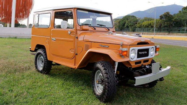 1981 Toyota FJ 40 Land Cruiser