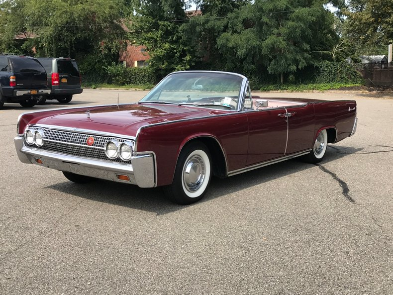 1963 lincoln continental weight