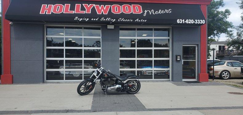 2013 Harley davidson break out