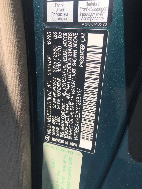 1995 Mercedes-Benz E320 Cabriolet for sale #80612 | MCG