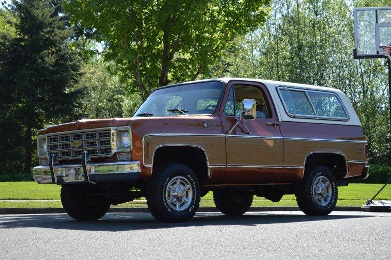 1978 Chevrolet K5 Blazer