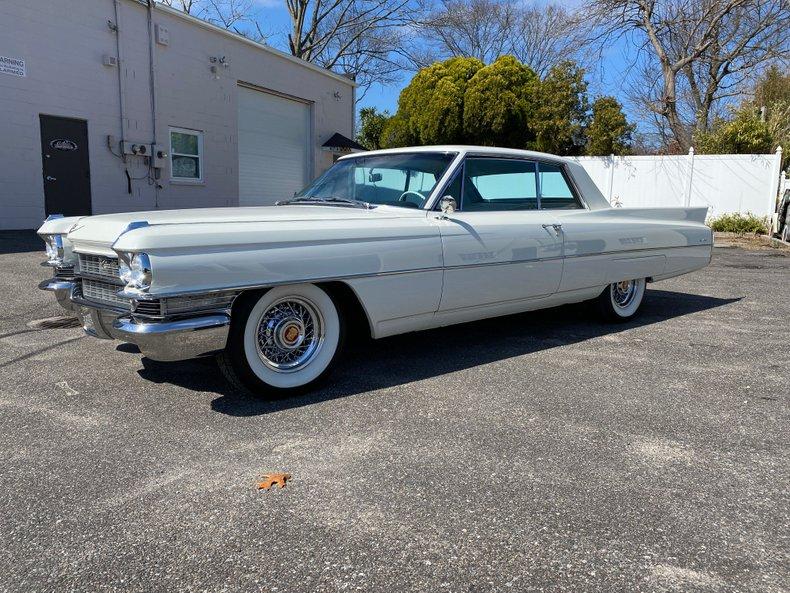 1963 Cadillac Coupe De Ville
