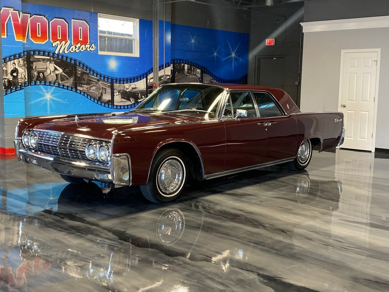 1962 Lincoln Continental Hollywood Motors