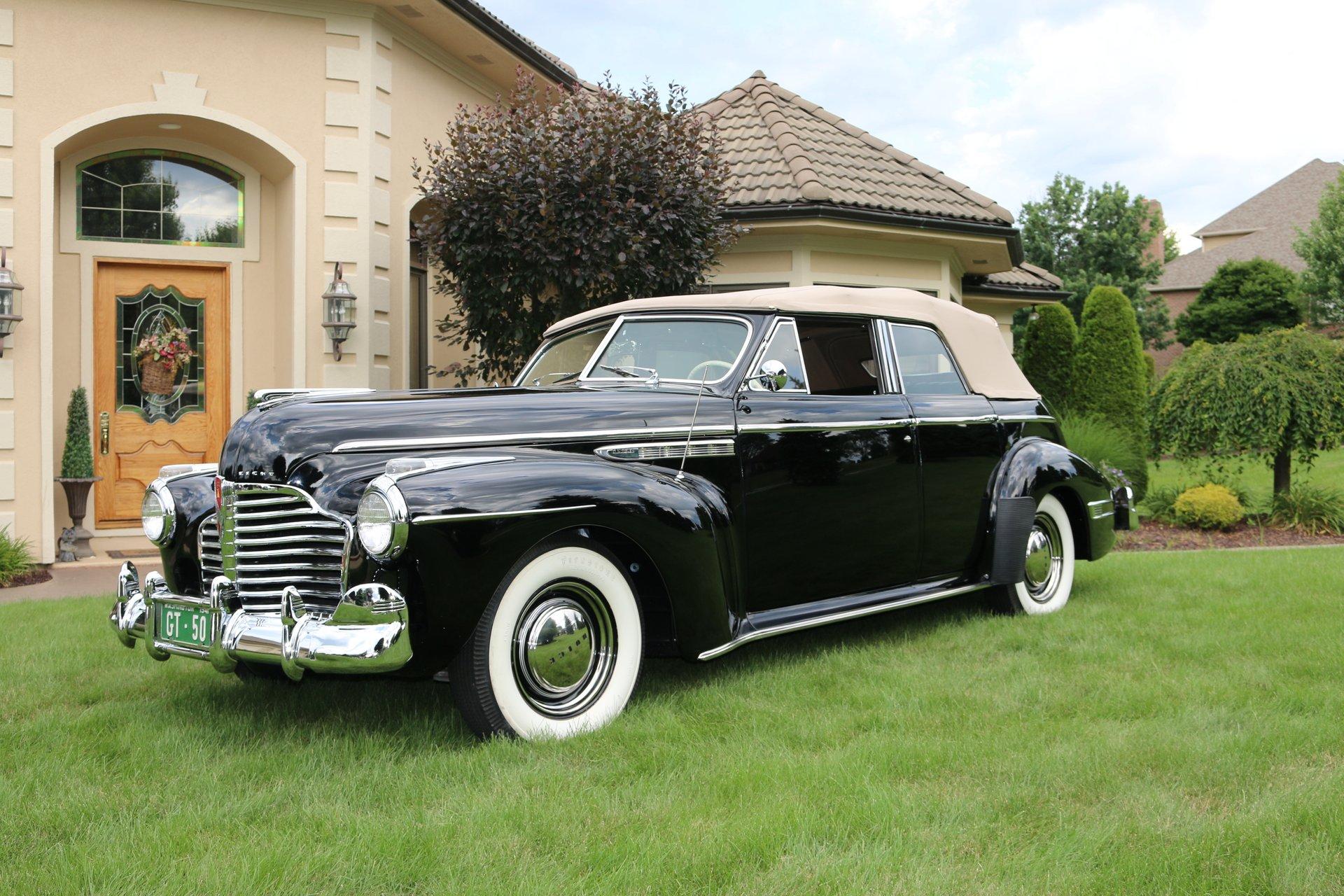 1941 buick 51c convertible