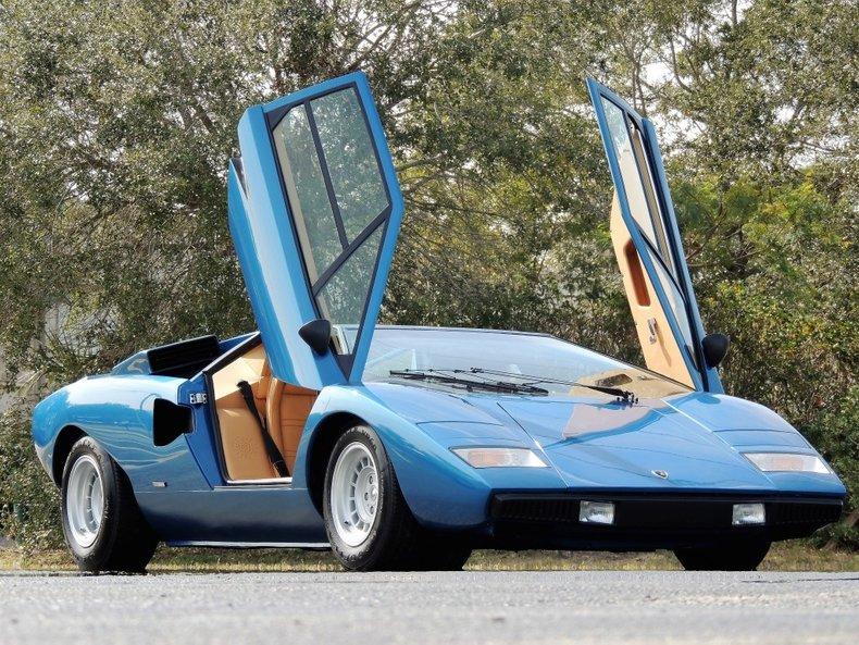 1975 Lamborghini Countach LP 400 Periscope