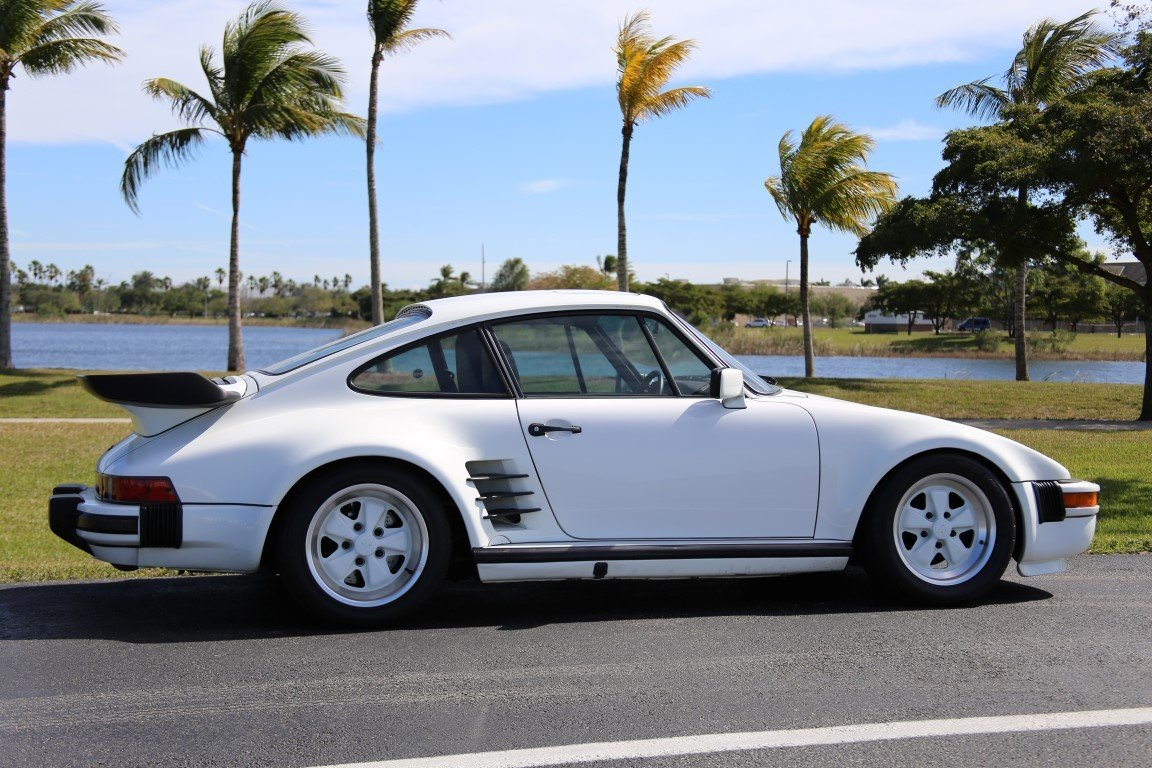 1987 porsche 930 turbo slant nose