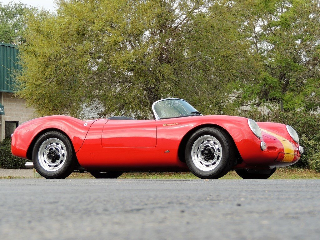 1955 porsche 550 spyder recreation