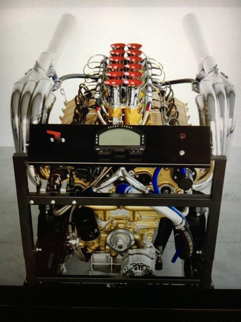 Lamborghini Vintage Marine Race Engine