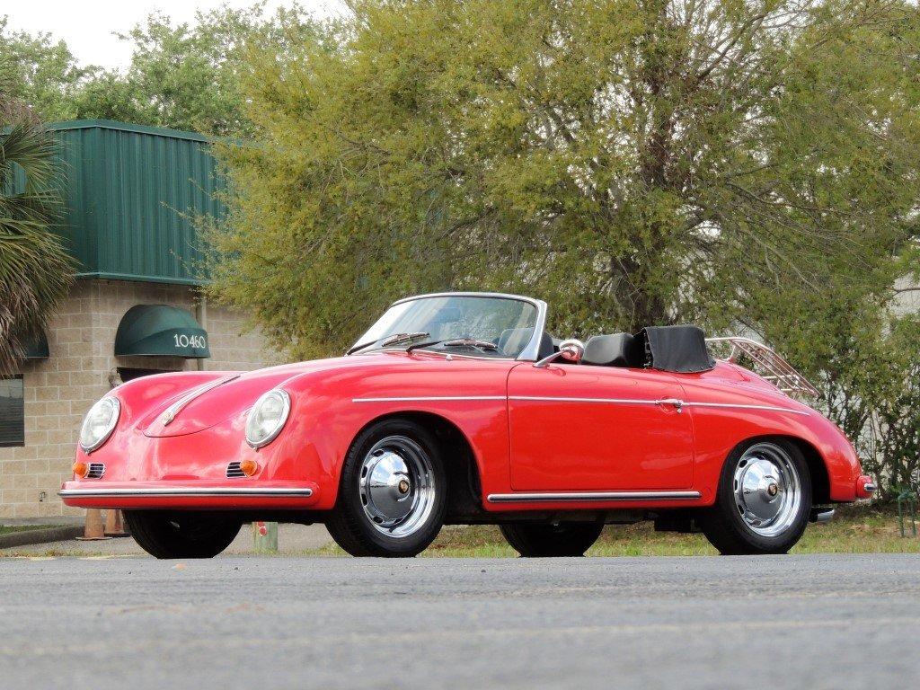1957 porsche 356 a cabriolet recreation
