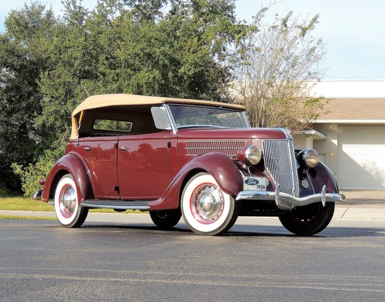 1936 FORD PHAETON 750
