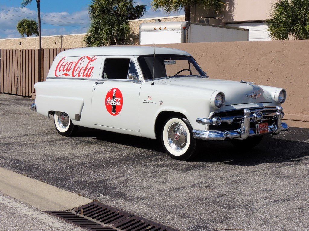 1954 ford sedan delivery coca cola